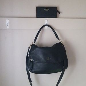 Kate spade SET cobble hill devin leather purse